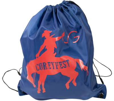 CoreyFest cinch bag