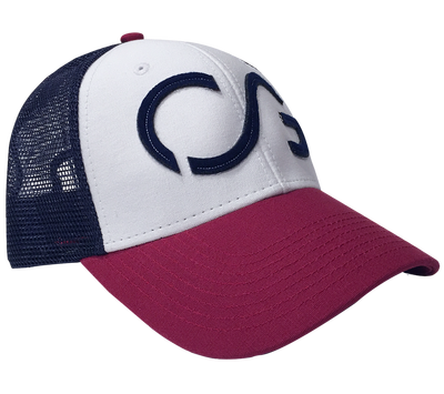 Trucker hat snapback- red, white, blue